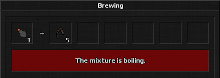 Advance your brewing skill and mix various potions.